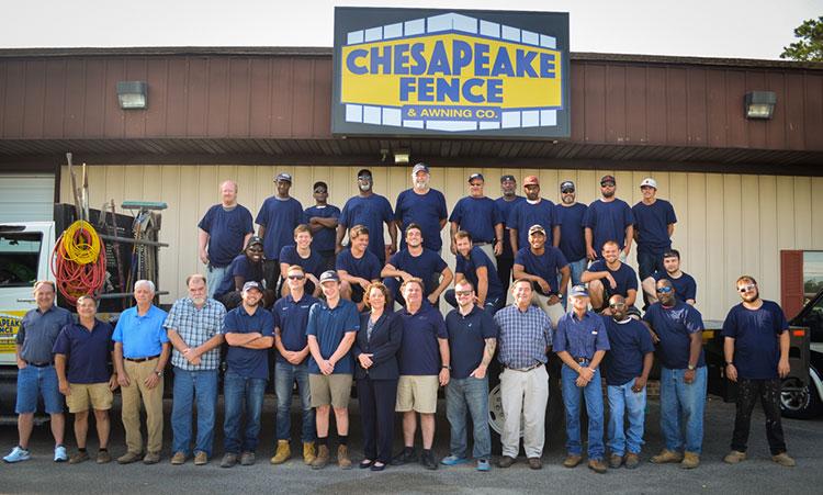 Chesapeake Fence Staff