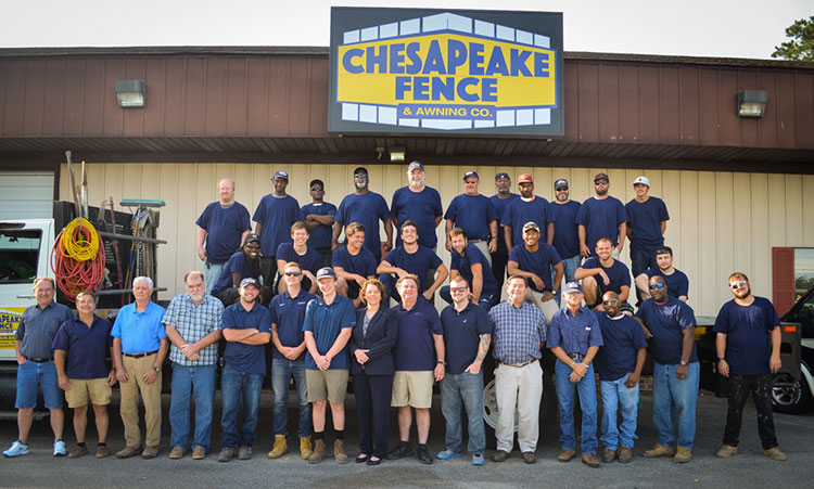 Chesapeake Fence Staff
